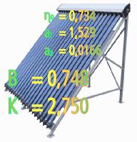 Panneaux solaires thermiques capteurs solaires for Panneau solaire sous vide
