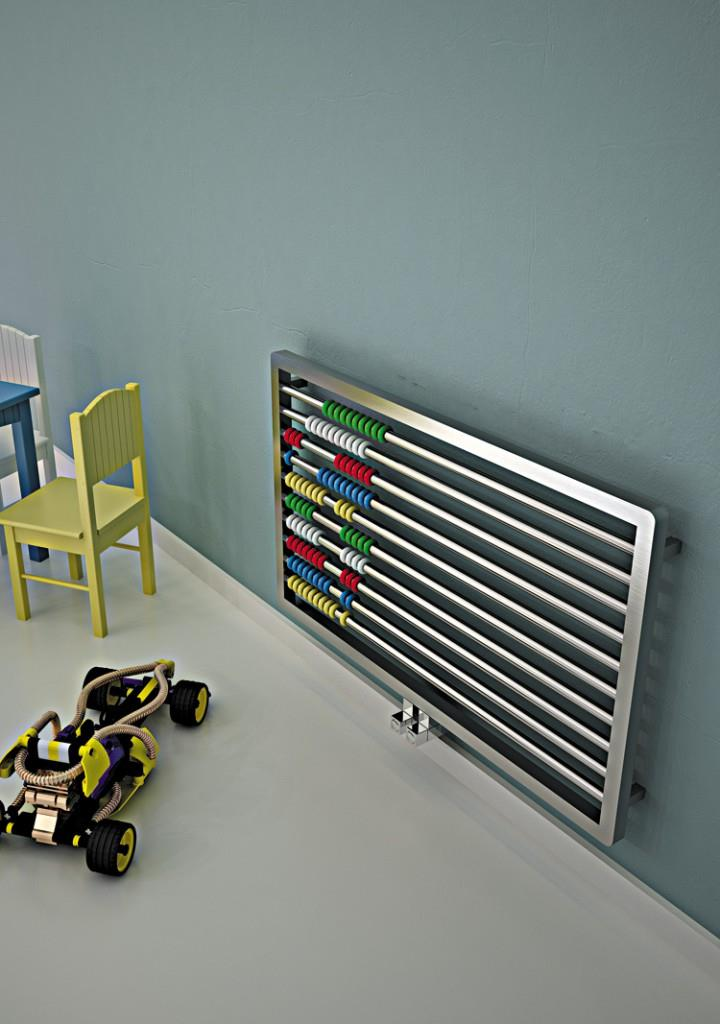 abako radiateur design inox pour chambre d 39 enfant p1930. Black Bedroom Furniture Sets. Home Design Ideas