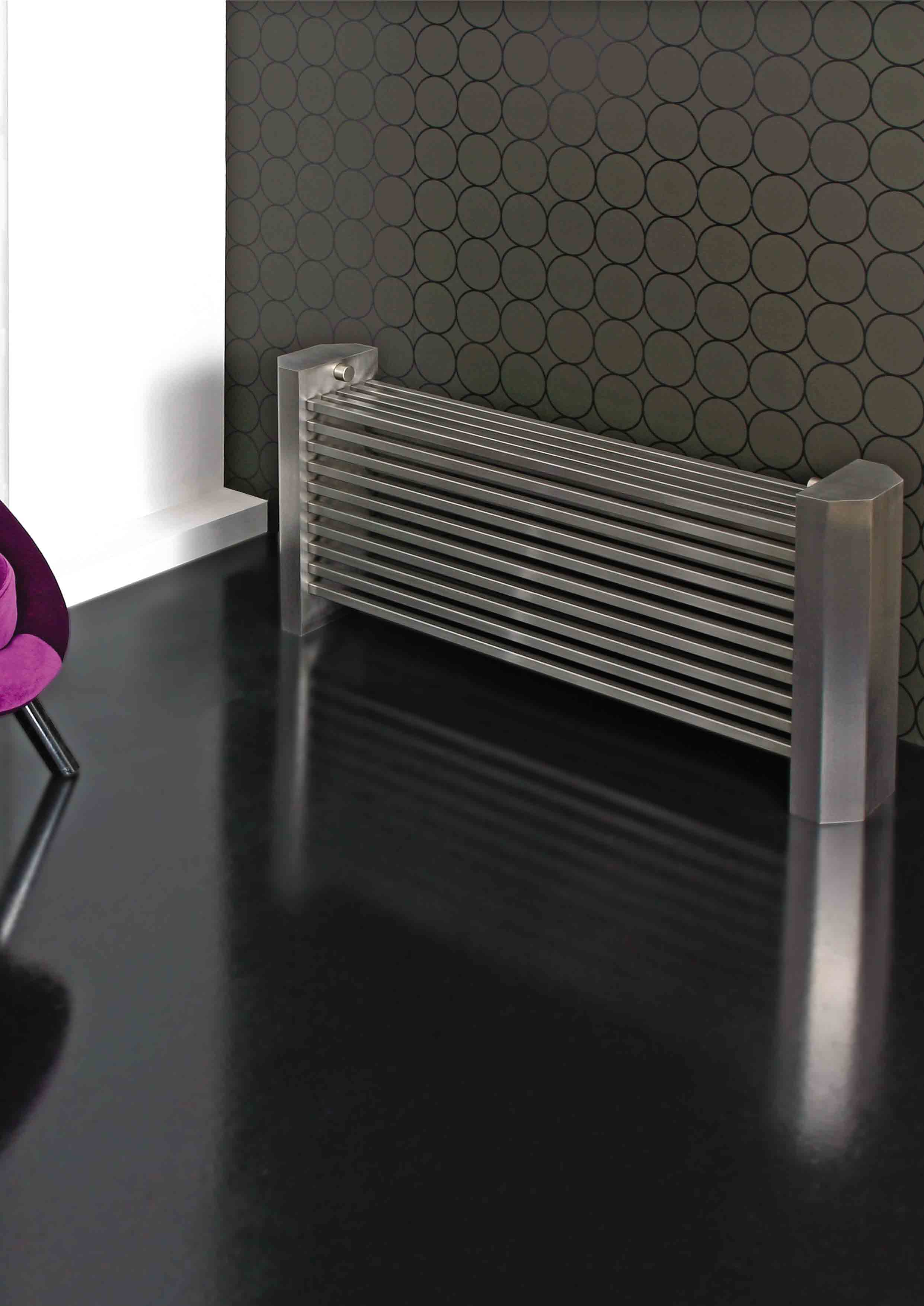 april radiateur inox bross p1094. Black Bedroom Furniture Sets. Home Design Ideas