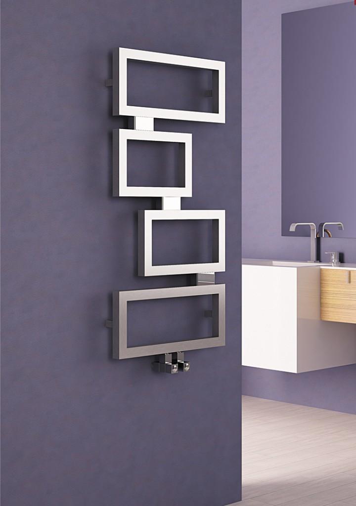 clash radiateur s che serviette d coratif en inox p1905. Black Bedroom Furniture Sets. Home Design Ideas