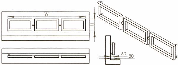 Radiateur design inox Rea de Carisa