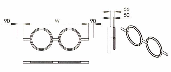 Radiateur design inox Roni de Carisa