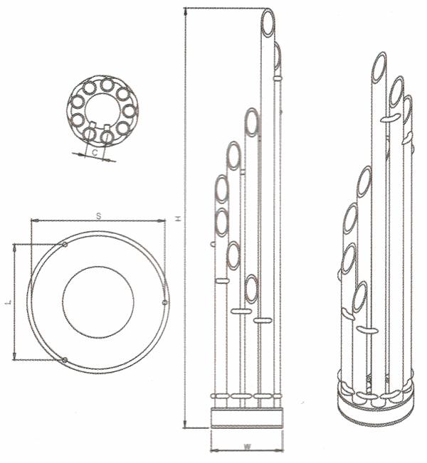Radiateur design inox Unique de Carisa